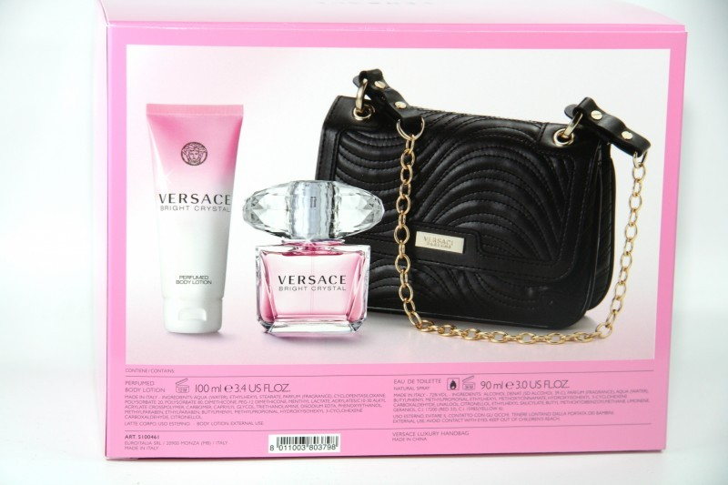 67 100ml versace bright crystal set 90 ml edt body. Black Bedroom Furniture Sets. Home Design Ideas