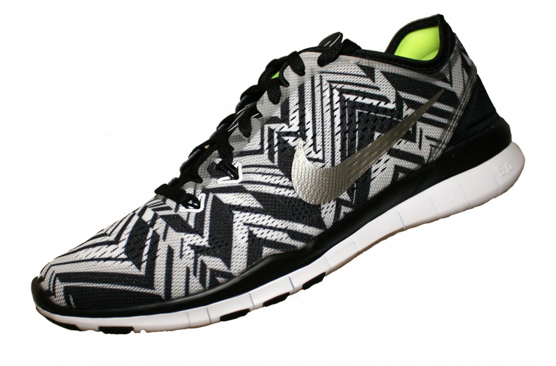 ... WMNS Nike Free 5.0 TR FIT 5 PRT 704695 Schwarz 001 Damen ...