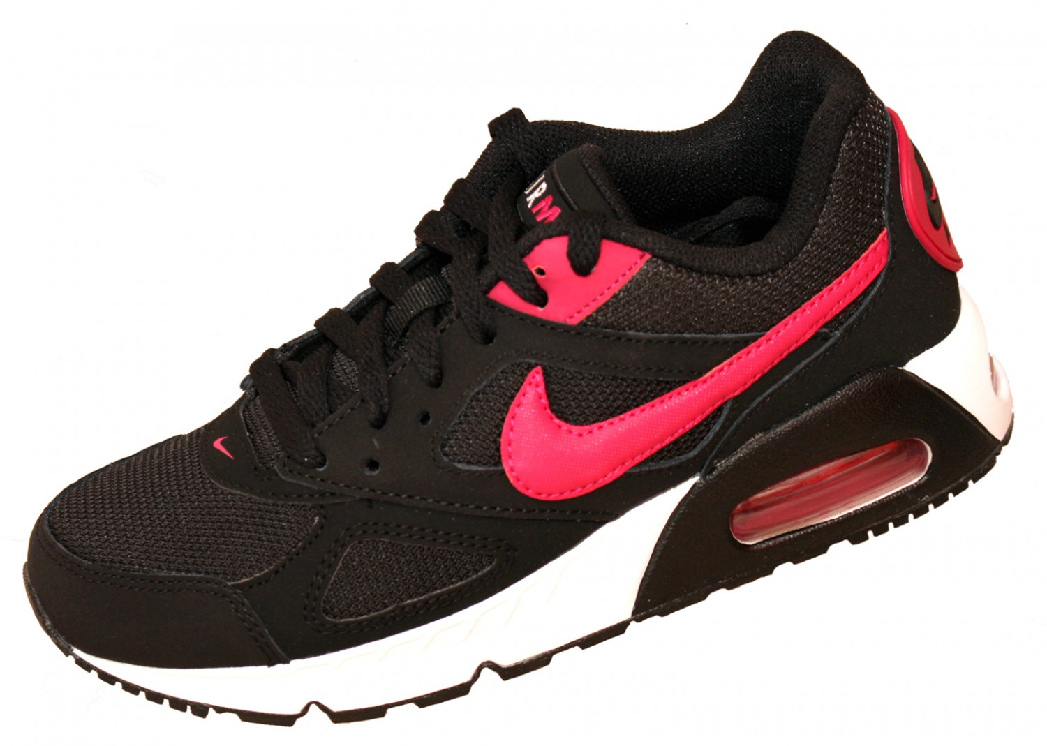 wmns nike air max ivo 580519 schwarz pink 061 sneaker sportschuhe schuhe damen sneakers. Black Bedroom Furniture Sets. Home Design Ideas
