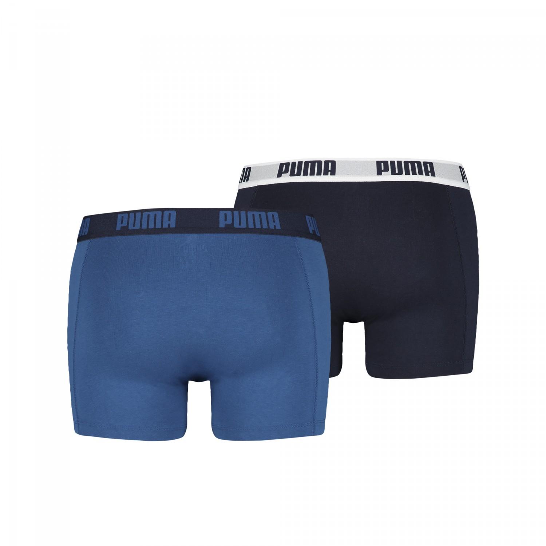 puma sport boxer short 521015001 true blue 2er 420 herren marken puma. Black Bedroom Furniture Sets. Home Design Ideas