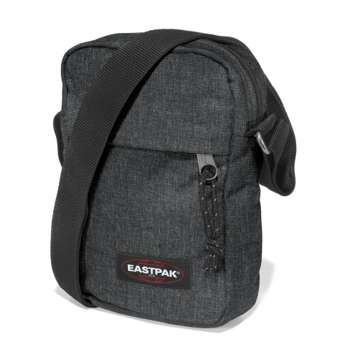 Eastpak The One Schultertasche EK045 Black Denim 77H 2,5 Liter