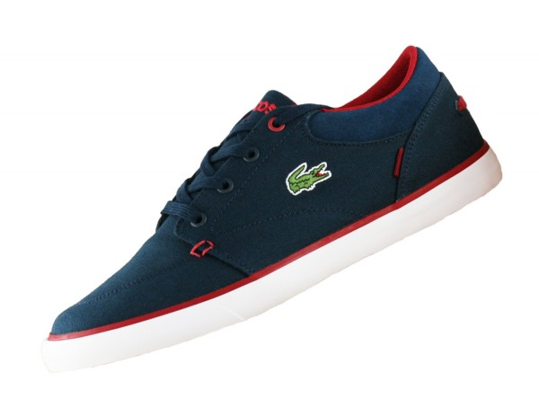 Lacoste Bayliss G117 Cam 733CAM1092003 Navy Canvas Sneaker