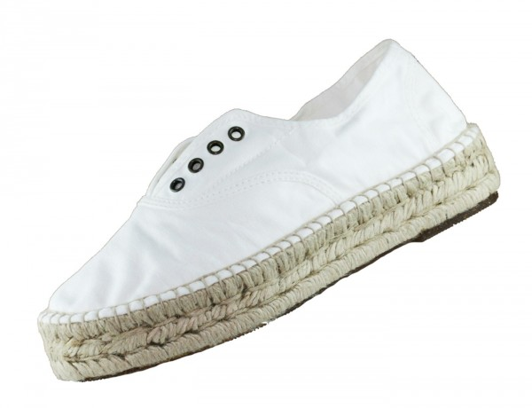 Natural World Eco 687 Espandrillo 505 Weiss Espadrilles