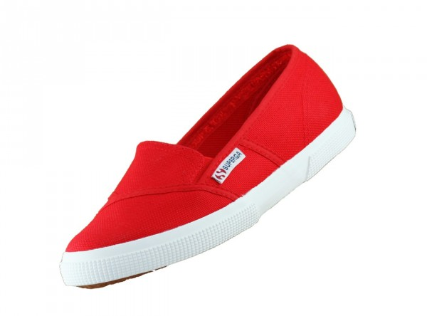 Superga 2210 cotw S007WA0 Rot C90 Damen Slip On