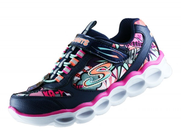 Skechers Lights Lumi Luxe 10914L Blinklichter NVMT Kinderschuhe