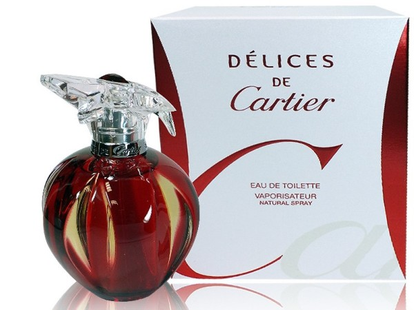 Cartier Delices 100 ml Eau de Toilette Spray