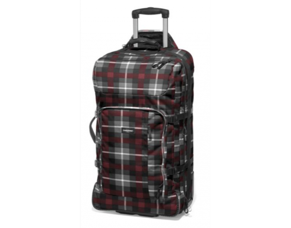 Eastpak EK235 Hicks 75 Rollentasche 74B Reisetasche 89 L Trolley Brown Checker