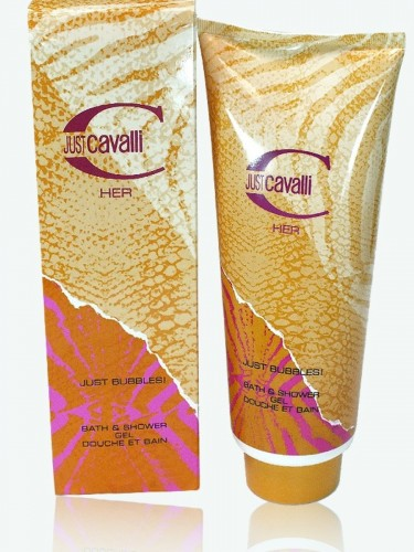 Just Cavalli Her 400 ml Shower Gel Just Bubbles