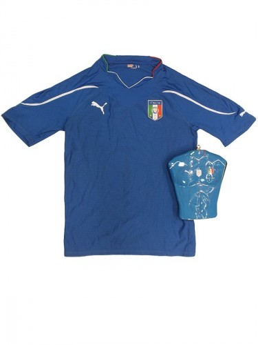 Puma Italia Home Authentic Shirt 736645 01 Blau Gr. XL