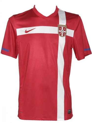 NIKE SERBIEN Nationalteam Herren Home Trikot 374540 Größe S M rot