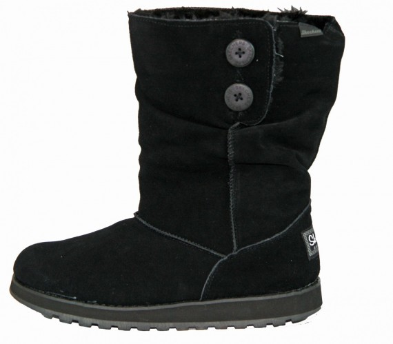 Skechers Freezing Temps 47221 BLK  Winter Stiefel