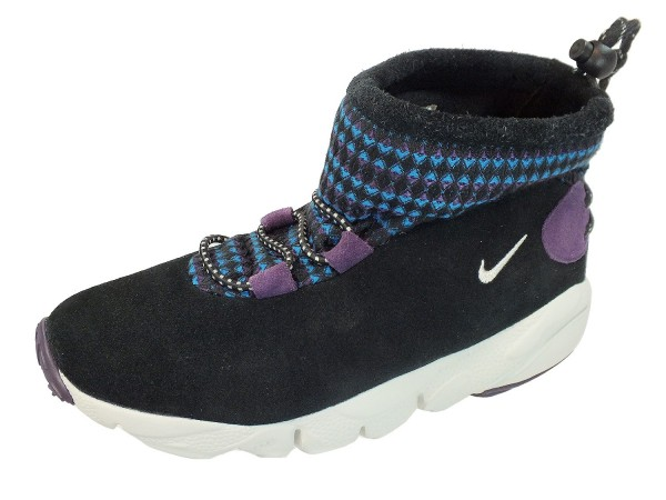 WMNS Nike AIR BAKED MID MOTION PRM Winterstiefel 472704 Schwarz 001