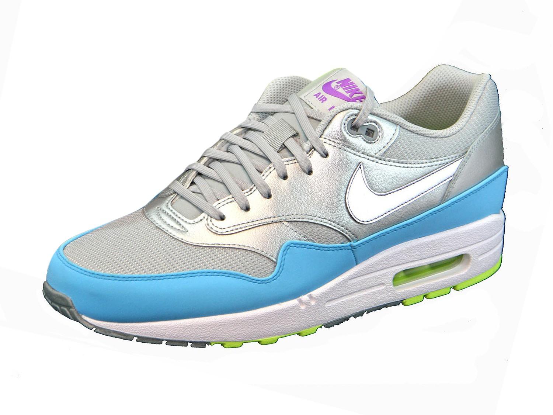 Air Max 1 FB 579920 Silber 004 Sneaker