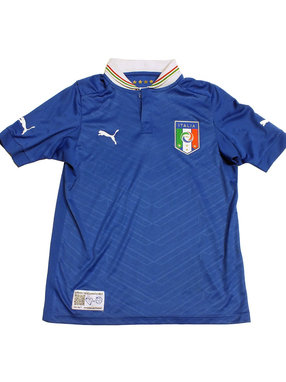 Italia Kids HOME Shirt Replica Größe 140 Italien Trikot blau 740360 01