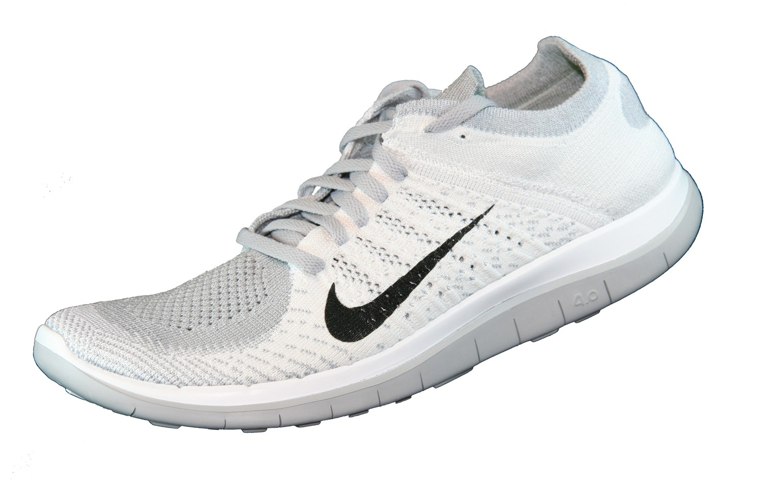 nike free 4 0 flyknit wei. Black Bedroom Furniture Sets. Home Design Ideas