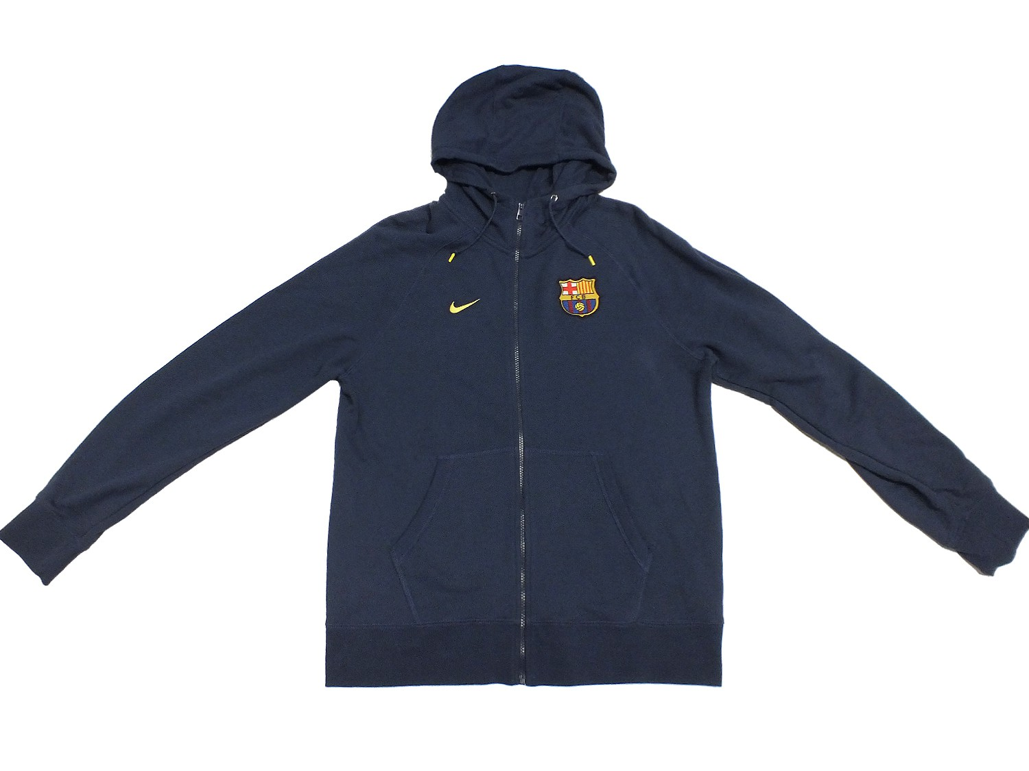 nike fcb barcelona hoody kapuzen jacke 546794 blau 410. Black Bedroom Furniture Sets. Home Design Ideas
