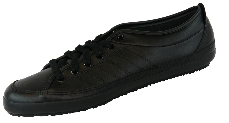 NIZZA LO REMO G42769 Schwarz Retro Sneaker Leder