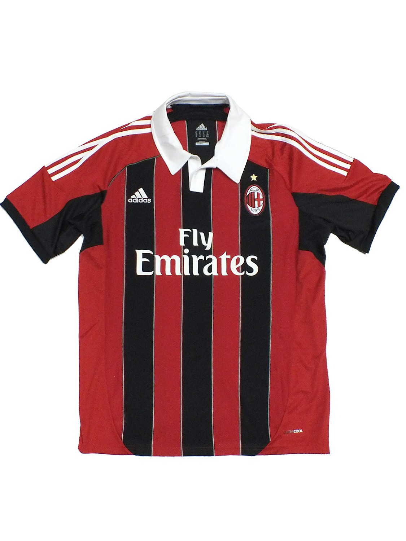 AC Milan TRIKOT X23680 Schwarz Rot Mailand