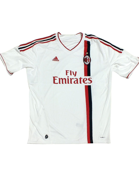 AC Milan TRIKOT V13442 Weiss Rot Mailand