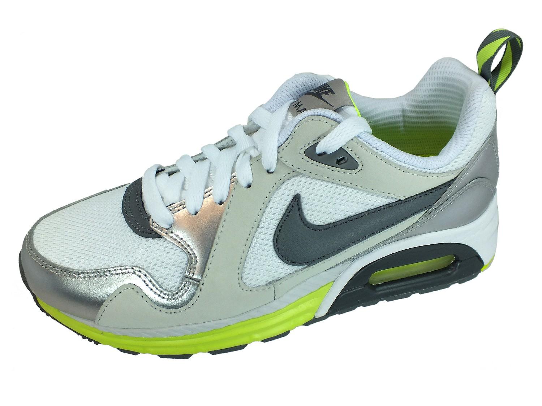 AIR MAX TRAX Sneaker 631763 Weiss Silber 100 Sportschuhe