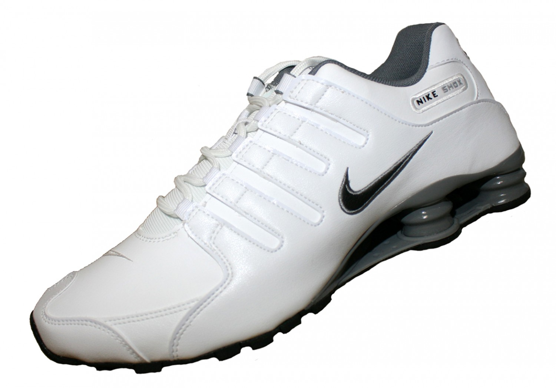 SHOX NZ Leder 378341 Weiss 102 Sneaker