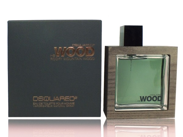 DSQUARED He Wood Rocky Mountain Wood 100 ml EDT Homme Spray