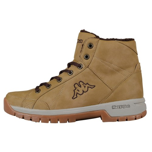 Kappa LOOK 241695 Mid 4141 Beige Winter Outdoor Wander Schuhe Stiefel
