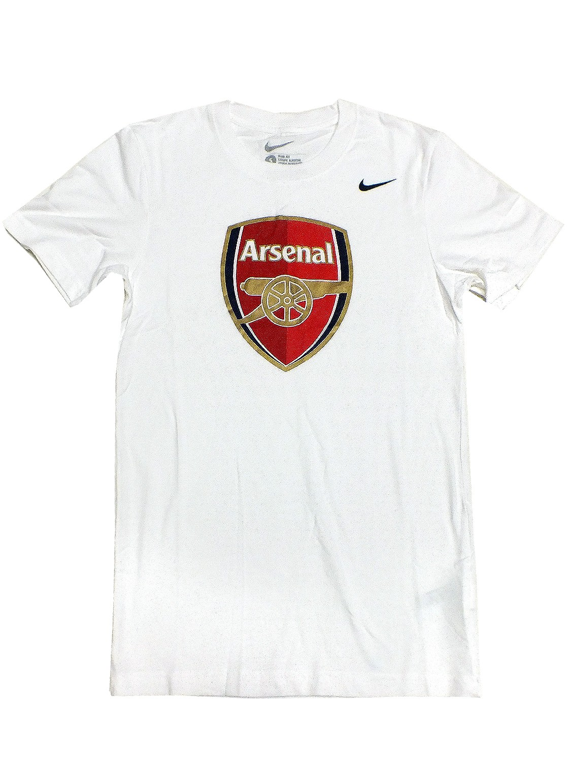 Nike arsenal t shirt 547195 weiss 100 shirt edel for Arsenal t shirts sale