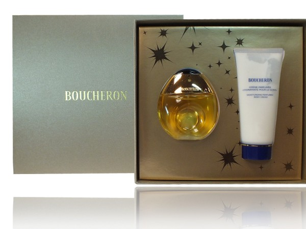 Boucheron pour Femme SET 50 ml EDT spray 100 ml Body Cream