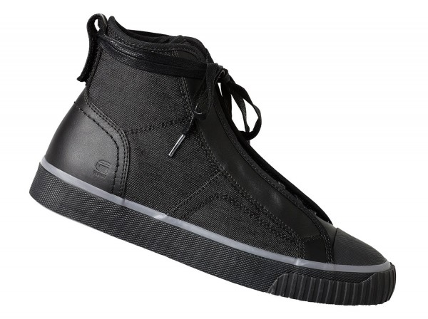 G-Star Raw Scuba Retro Herren High top Sneaker Schwarz  – Bild 2