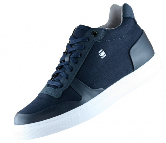 G-Star Raw Krosan Retro Herren High top Sneaker Dunkelblau