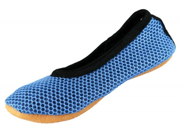 Beck 026 AirBecks Blau Kinder Damen Gymnastikschuhe  – Bild 1