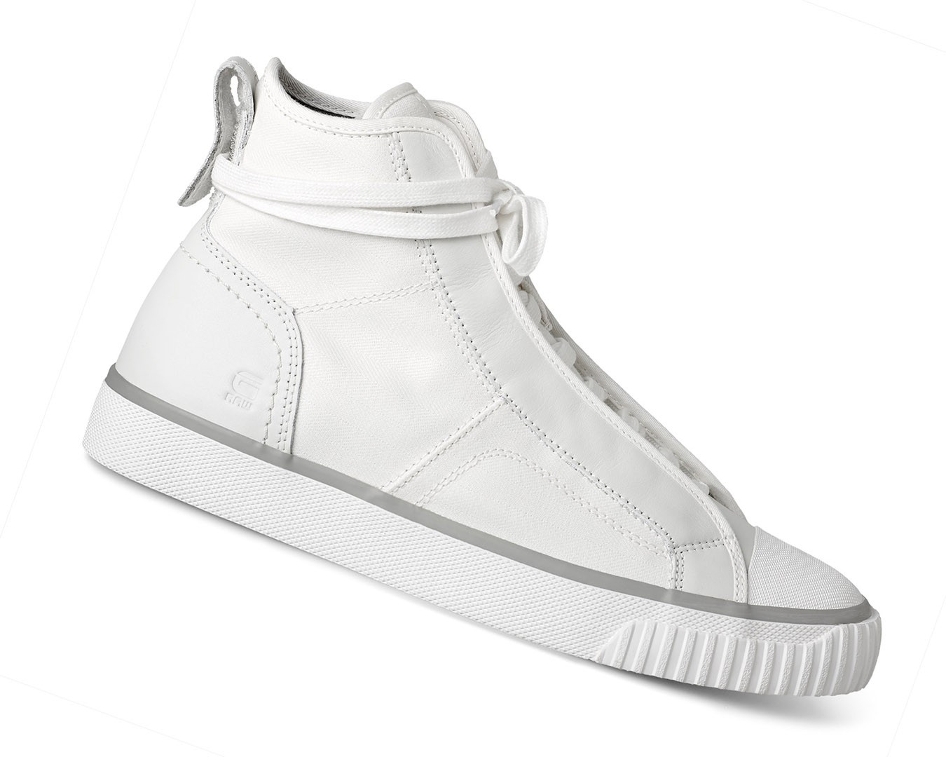 g star raw scuba weiss retro herren high top sneaker. Black Bedroom Furniture Sets. Home Design Ideas