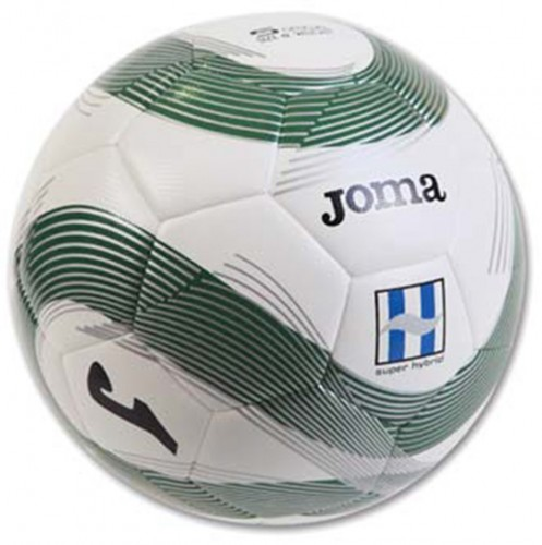 Joma Ball T5 Super Hybrid  400197 green 450 Fussball 32 Panel