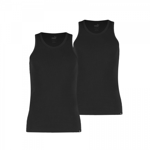 Puma Tank Top Basic 2P 572001001 Schwarz 200 T-Shirt
