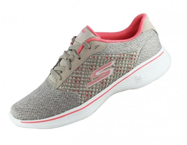 SKECHERS Go Walk 4 Exceed 14146 Taupe TPCL Goga Max