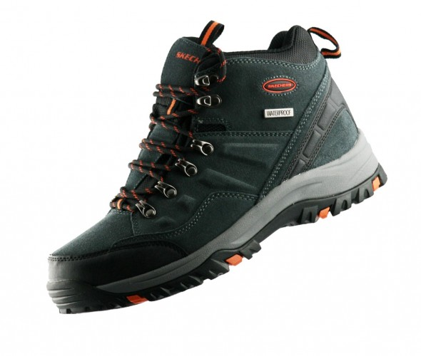 Skechers Relment Outdoor Wander 64869 Grau GRY Stiefel