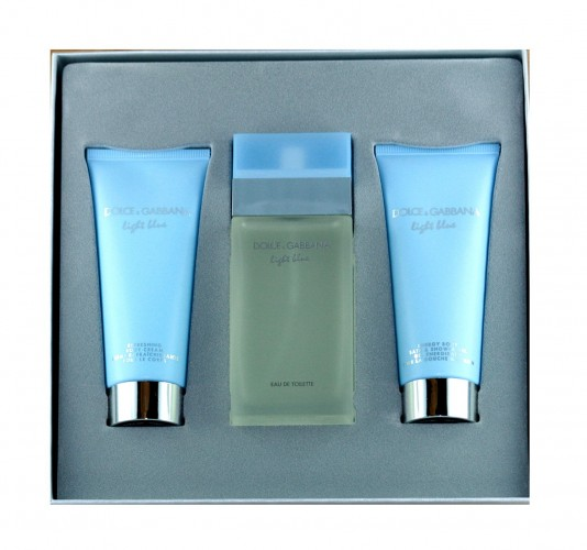 Dolce & Gabbana Light Blue SET 100 / 100 / 100 ml EDT / BC / SG