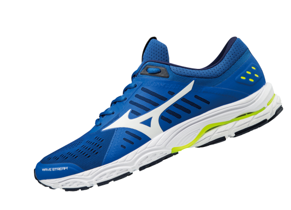 Mizuno Wave Stream Herren Running J1GC181901 Blau