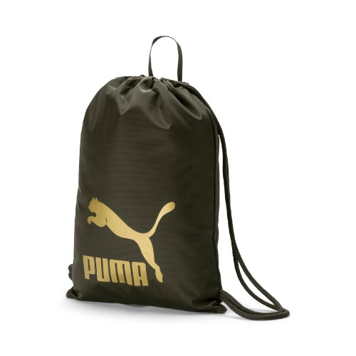 Puma Originals Gym Sack 074812 Grün 10 Turnbeutel
