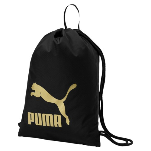 Puma Originals Gym Sack 074812 Schwarz 09 Turnbeutel